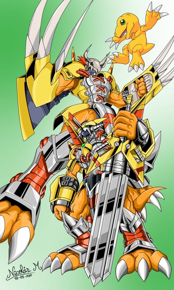 Digimon by nickmangaka